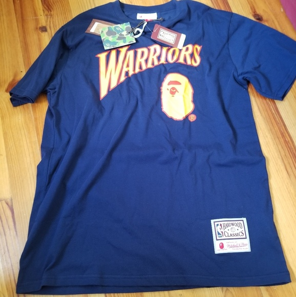 8276d3926e34 Bape x NBA Warriors Oversized Tee. NWT. Bape.  98  0. Size